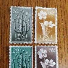 Sellos: ESPAÑA COLONIAS :128/31 MNH, IFNI. Lote 205801035