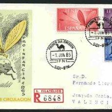 Sellos: SPD-IFNI 1965 - PRO INFANCIA. Lote 155849982