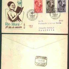 Sellos: SPD-RIO MUNI 1960 - NIÑO INDÍGENA. Lote 155857242