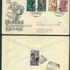 Sellos: SPD-RIO MUNI 1960 - PRO INFANCIA. Lote 155857382