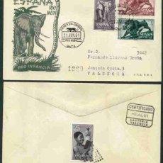 Sellos: SPD-RIO MUNI 1961 - PRO INFANCIA. Lote 155946710