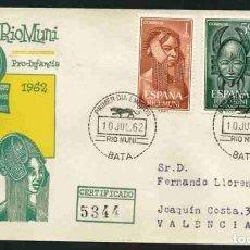Sellos: SPD-RIO MUNI 1962 - PRO INFANCIA. Lote 155947834