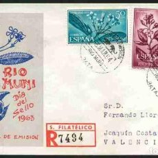 Sellos: SPD-RIO MUNI 1964 - DIA DEL SELLO. Lote 155951866