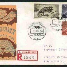 Sellos: SPD-RIO MUNI 1964 - PRO INFANCIA. Lote 155951994