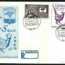 Sellos: SPD-RIO MUNI 1965 - DIA DEL SELLO. Lote 155953450