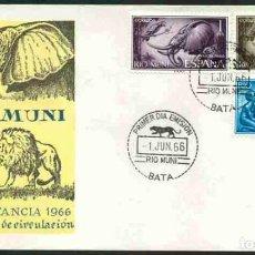 Sellos: SPD-RIO MUNI 1966 - PRO INFANCIA. Lote 155957766