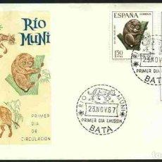 Sellos: SPD-RIO MUNI 1967 - DIA DEL SELLO. Lote 155958242