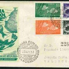 Sellos: SPD-SAHARA ESPAÑOL 1953 - DIA DEL SELLO. Lote 155974590