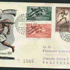 Sellos: SPD-SAHARA ESPAÑOL 1954 - PRO INFANCIA. Lote 155975446
