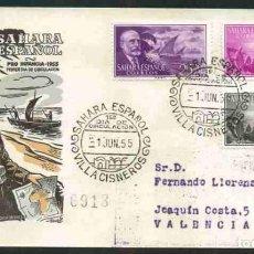 Sellos: SPD-SAHARA ESPAÑOL 1955 - PRO INFANCIA. Lote 155977066