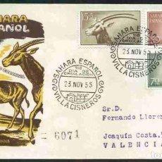 Sellos: SPD-SAHARA ESPAÑOL 1955 - DIA DEL SELLO. Lote 155977198