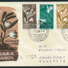 Sellos: SPD-SAHARA ESPAÑOL 1956 - PRO INFANCIA. Lote 155978774