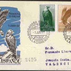 Sellos: SPD-SAHARA ESPAÑOL 1957 - PRO INFANCIA. Lote 155981994