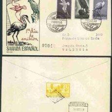 Sellos: SPD-SAHARA ESPAÑOL 1959 - AVES. Lote 155986006