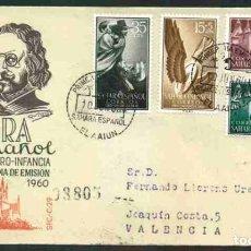 Sellos: SPD-SAHARA ESPAÑOL 1960 - PRO INFANCIA. Lote 155986466