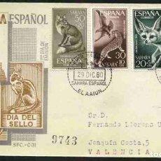 Sellos: SPD-SAHARA ESPAÑOL 1960 - DIA DEL SELLO. Lote 155988170