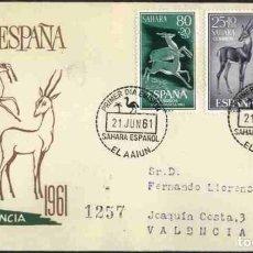Sellos: SPD-SAHARA ESPAÑOL 1961 - PRO INFANCIA. Lote 155988390