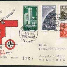 Sellos: SPD-SAHARA ESPAÑOL 1961 - XXV ANIV. EXALT. FRANCO A JEF. ESTADO. Lote 155988582