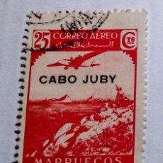 Sellos: SELLO DE MARRUECOS HABILITADO CABO JUBY 1938 Nº 104. Lote 156566338