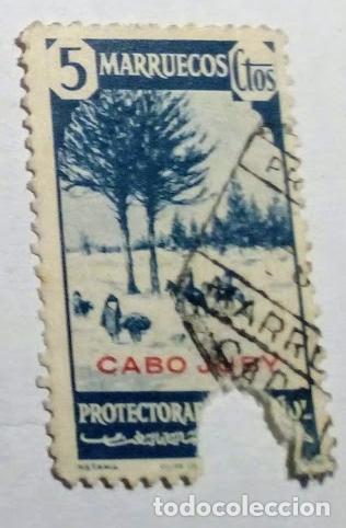 SELLO DE MARRUECOS HABILITADO CABO JUBY 1940 Nº 118 (Sellos - España - Colonias Españolas y Dependencias - África - Cabo Juby)