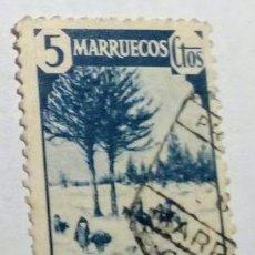 Sellos: SELLO DE MARRUECOS HABILITADO CABO JUBY 1940 Nº 118. Lote 156567254