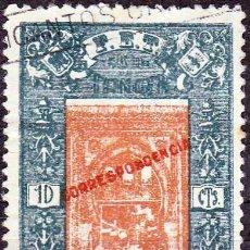 Sellos: 1938 - MARRUECOS - TANGER ASISTENCIA SOCIAL - CORREO FALANGISTA - GALVEZ 1. Lote 157804802