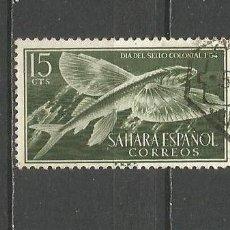 Timbres: SAHARA ESPAÑOL EDIFIL NUM. 118 USADO. Lote 158023850