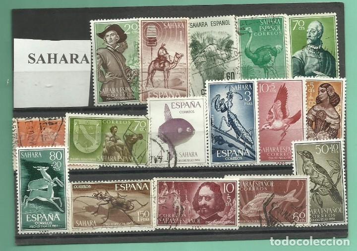 LOTE DE SELLOS DEL SAHARA (Sellos - España - Colonias Españolas y Dependencias - África - Sahara)