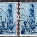 Sellos: SAHARA ESPAÑOL - DOS SELLOS - EDIFIL #241 -***XXV AÑOS DE PAZ***- AÑO 1964 - USADOS. Lote 158897218