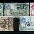 Sellos: SELLOS ESPAÑA 1964 - FOTO 872 - Nº 1590 - COMPLETA, NUEVOS. Lote 158986466