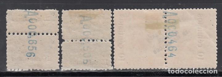 Sellos: MMARUECOS, 1920 EDIFIL Nº 64, 65, 66, /*/ - Foto 2 - 159402734