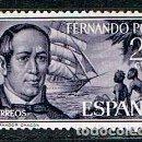 Sellos: FERNANDO POO, EDIFIL Nº 220, EL GOBERNADOR CHACON, DIA DEL SELLO 1963, NUEVO CON SEÑAL DE CHARNELA . Lote 159883250