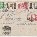 Sellos: CORREO AEREO. SOBRE CIRCULADO DE ALCAZARQUIVIR A SAN REMO - ITALIA. 1947. Lote 160503818