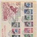Sellos: CORREO AEREO. CERTIFICADO CIRCULADO DESDE TETUAN A BARCELONA. 1950. Lote 160517546