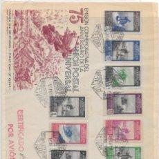 Stamps - CORREO AEREO. CERTIFICADO CIRCULADO DESDE TETUAN A BARCELONA. 1950 - 160517546