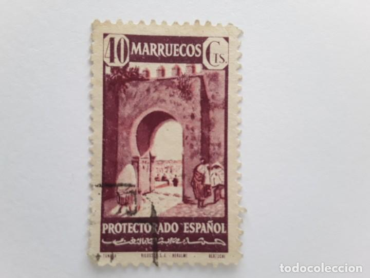 MARRUECOS SELLOS USADOS (Sellos - España - Colonias Españolas y Dependencias - África - Marruecos)