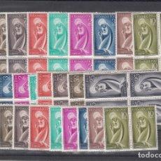 Sellos: ,FERNANDO POO 179/87 LOTE DE 10 SERIES SIN CHARNELA, RELIGION, IMAGEN DE LA VIRGEN,. Lote 165334326