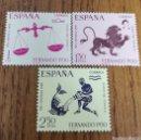 Sellos: COLONIAS: FERNANDO POO N°265/67 MNH. Lote 165757380