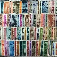 Sellos: GUINEA CON 90 SELLOS NUEVOS DE1950 A 1959.EXCEPTO 298/304 Y 317 CON SEÑAL DE FIJASELLOS. CAT.166,6 €. Lote 166851302