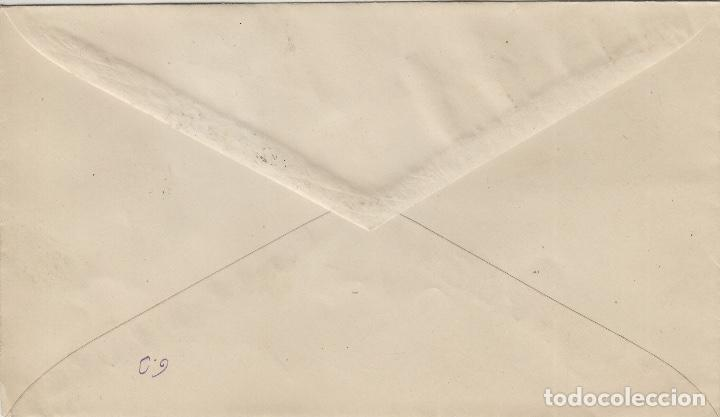Sellos: AFRICA OCCIDENTAL -DIA DEL SELLO , ISABEL 1949 ed 2 - SOBRE /SPD PRIMER DIA CIRCULADO S.F.C - Foto 2 - 166939616