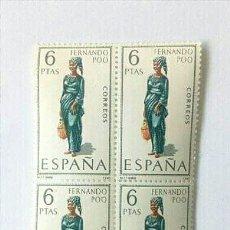 Sellos: LOTE DE SELLOS DE FERNANDO POO 1968. Lote 166961548