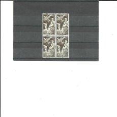 Sellos: SAHARA- 189 AÉREO INDÍGENA Y AVIÓN BLOQUE DE CUATRO NUEVOS SIN FIJASELLOS(SEGÚN FOTO). Lote 178243743
