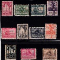 Sellos: FERNANDO POO EXPOSICION GENERAL ESPAÑOLA 1929 - BARCELONA-SEVILLA NUMS 168 A 178 NUEVOS SIN FIJASELL. Lote 167588880