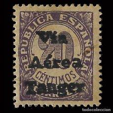 Timbres: SELLOS. TANGER 1938.SELLOS ESPAÑA.HABILITADOS.20C.VIOLETA. NUEVO*. EDIFIL. Nº131. Lote 167744636