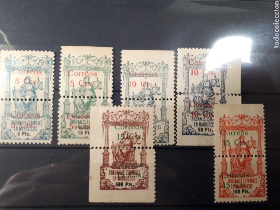 MARRUECOS EDIFIL 68/73 SERIE COMPLETA 1920 LOT.85 (Sellos - España - Colonias Españolas y Dependencias - África - Marruecos)