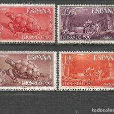 Sellos: FERNANDO POO EDIFIL NUM. 203/206 SERIE COMPLETA NUEVA SIN GOMA. Lote 193988483