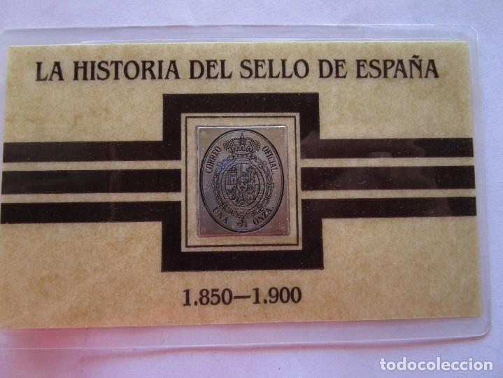 HISTORIA DEL SELLO EN ESPAÑA . REALIZADO EN PLATA DE LEY (Sellos - España - Colonias Españolas y Dependencias - África - Marruecos)
