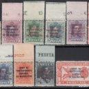 Sellos: MARRUECOS, 1923 - 1930 EDIFIL Nº 81 / 90 /**/, SIN FIJASELLOS. . Lote 168125012