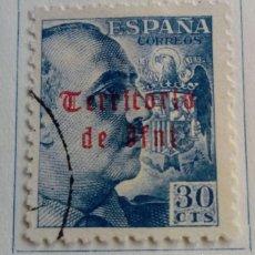 Sellos: SELLO IFNI 1941/42 HABILITADO Nº 8. Lote 168192804
