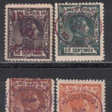 Sellos: RÍO DE ORO. 1908 EDIFIL Nº 37 / 40 **/* . Lote 168226256